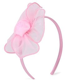 Stol'n Hair Band Flower Design - Light Pink