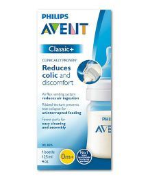Philips Avent Classic Plus Feeding Bottle - 125 ml
