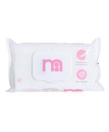 Mothercare Fragrance Free Wipes Pink - 60 Pieces