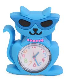 Cat Shape Baby Wrist Watch - Blue