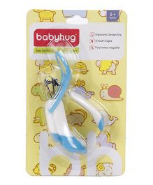 Babyhug Nail Clipper With Magnifier - Blue White