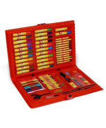 Skykidz Jumbo Art Set Red - 101 Pieces