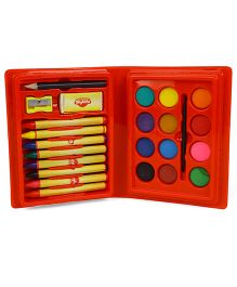 Skykidz Junior Artist 24 Pieces Set - Red