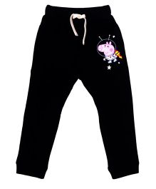 Peppa Pig Full Length Track Pant - Black