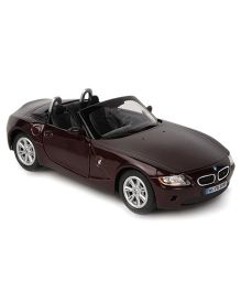 Kinsmart BMW Z4 Die Cast Pull Back Toy Car With Openable Doors - Maroon