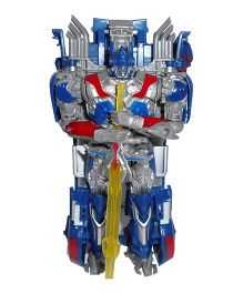 Emob Robot Cum Car With Sword & Shield - Blue