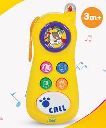 Mee Mee Cheerful Baby Phone - Yellow