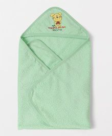 Mee Mee Hooded Towel Bear Patch - Green