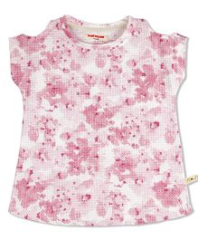 Raine And Jaine Floral Print Top - Pink