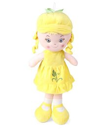 Starwalk Candy Doll With Cap Yellow - Height 50 cm