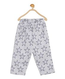 612 League Full Length Lounge Pants Star Print - Grey