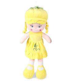 Starwalk Candy Doll With Cap Yellow - Height 75 cm
