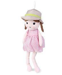 Starwalk Candy Doll With Hat Light Pink - Height 50 cm