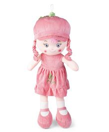 Starwalk Candy Doll With Cap Pink - Height 75 cm