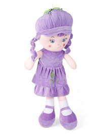 Starwalk Candy Doll With Cap Purple - Height 75 cm