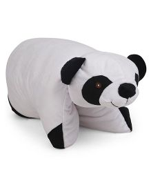 Starwalk Panda Shape Folding Pillow - White Black
