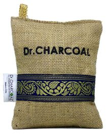 Dr. CHARCOAL Non-Electric Air Purifier Classic Khaki - Areas up to 90 sq ft