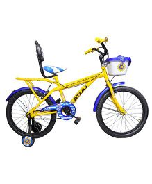 Atlas New Park Police Dept Bicycle Yellow & Blue - 20 inches