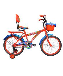 Atlas Swift Bicycle With Training Wheel Blue Orange - 20 inches