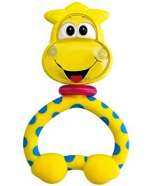 Chicco Fun Teething Rattle Giraffe - Yellow