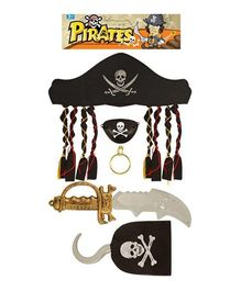 Wanna Party Pirate Set - Black & Silver