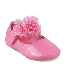 Kittens Party Wear Bellies Corsage Detailing - Pink