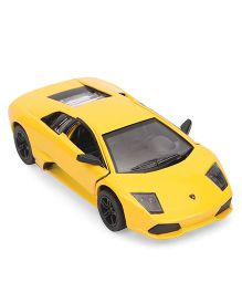 Kinsmart Lamborghini Murcielago Lp640 Die Cast Toy Car With Openable Doors - Yellow
