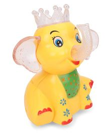 Playmate Happy Elephant Musical Toy Yellow - 19.5 cm