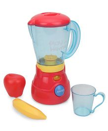 Playmate Toy Mixer With Bowl - Red Yellow