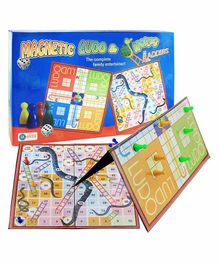 Ekta Magnetic Ludo & Snakes Ladders - Multi Colour