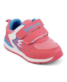 Kittens Shoes Dual Velcro Sports Shoes - Pink