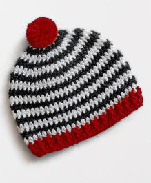 Dollops of Sunshine Just Stripes Cap - Red
