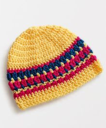 Dollops of Sunshine Color Bomb Hat - Yellow