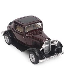 Kinsmart Ford-3 Window Die Cast Toy Car - Maroon