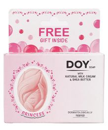 Doy Princess Soap With Natural Milk Cream And Shea Butter - 75 gm
