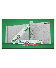 Inkmeo Jurassic Colouring Roll