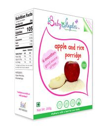 BabyStaples Apple & Rice Porridge - 200 gm