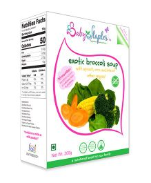 BabyStaples Exotic Broccoli Soup - 200 gm