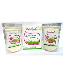 BabyStaples Assorted Barley and Oats Cereal Pack - 200 gm