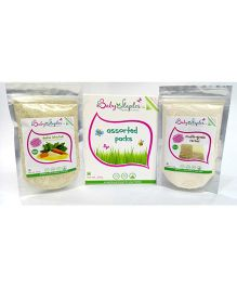 BabyStaples Assorted Veg Dalia & Multi-Grain Cereal Pack