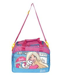 Barbie Printed Duffle Bag - Blue
