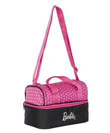 Barbie Insulated Lunch Bag - Pink & Black