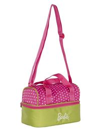 Barbie Insulated Lunch Bag - Pink & Green