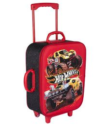 Hot Wheels Trolley Bag With Red - 16.9 inches