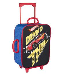 Hot Wheels Trolley Bag Black - 16.9 inches