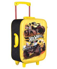 Hot Wheels Trolley Bag Yellow - 16.9 inches