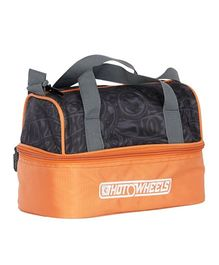 Hot Wheels Insulated Lunch Bag - Orange & Black