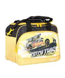Hot Wheels Duffle Bag - Yellow & Black
