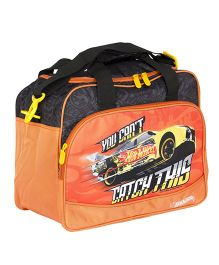 Hot Wheels Duffle Bag - Orange & Black