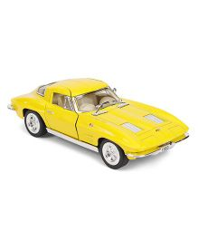 Kinsmart Die Cast Corvette Sting Ray Toy Car - Yellow
